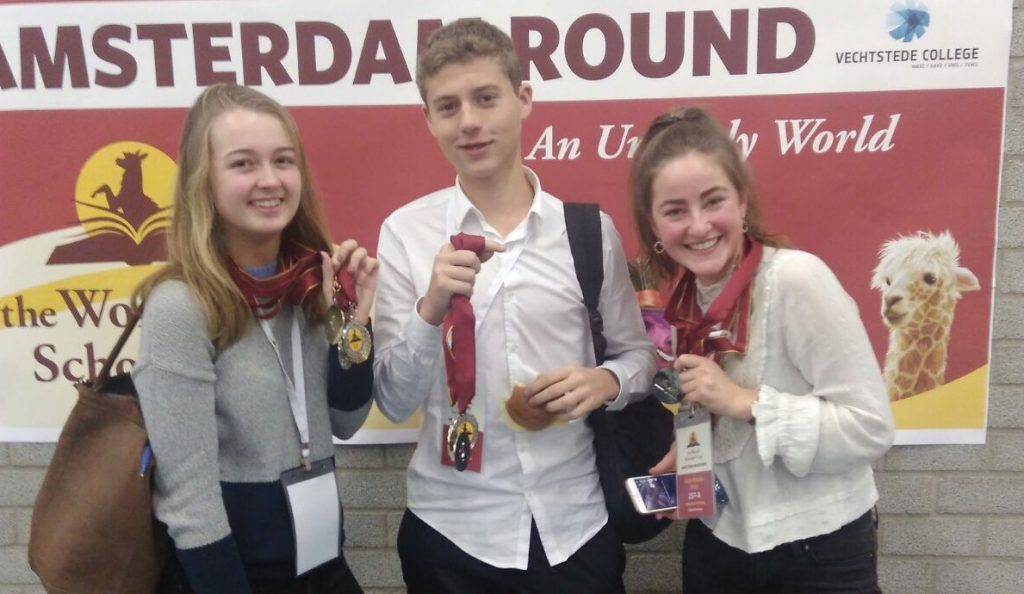 Winst op The World Scholar's Cup